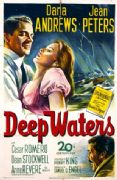 20th Century Fox's 'Deep Waters'. Vintage Movie Poster.